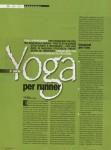 Yoga per correre - Posizioni pre