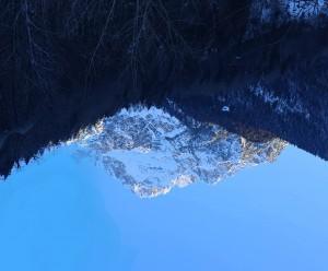 Dolomites Mount Antelao 3160m